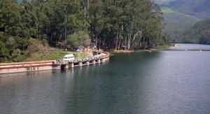 Kundalal Lake at Munnar