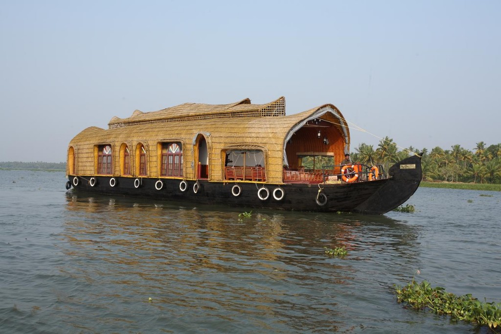 Houseboat at Kumarakom