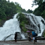chapra falls between Athirapally and Vazhachal