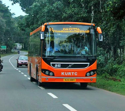 ac volvo bus from alleppey to munnar or cochin to munnar