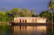 houseboat at Alleppey