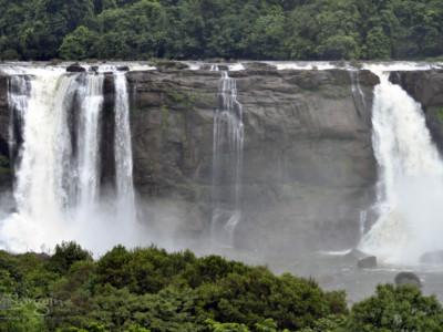 Athirapally Water falls